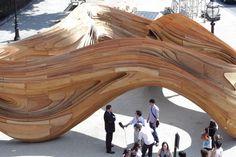 driftwood aa summer pavilion urban design architecture