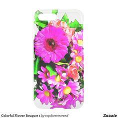Colorful Flower Bouquet 1 iPhone 7 Plus Case