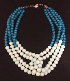 Your place to buy and sell all things handmade Beaded Necklace, Necklaces, Mom Jewelry, Buy And Sell, Mint, Jewellery, Beads, Modern, Handmade