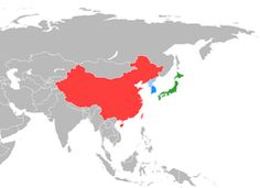 中日韩自由贸易区 - 维基百科,自由的百科全书 #Expired South Korea, Moose Art, Japanese, China, Travel, Viajes, Japanese Language, Korea, Destinations