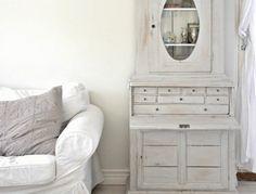 Состаренная мебель - покраска под старину своими руками