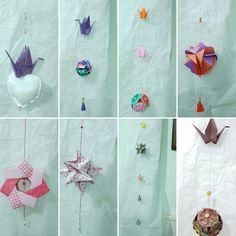 #móviles #colgantes #origami