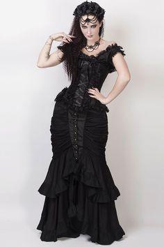 Bettie Page, Gothic Outfits, Gothic Dress, Modern Victorian Fashion, Modern Gothic, Victorian Gothic Wedding, Victorian Steampunk, Rockabilly, Emo