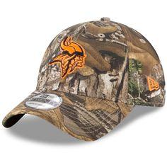 4848c98b498 Minnesota Vikings New Era Blaze 9TWENTY Adjustable Hat - Realtree Camo
