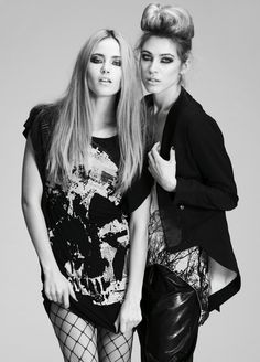 RELIGION'S GRUNGE SIDE GETS A RUFFLE OF GLAMOUR