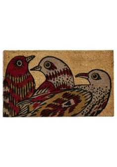 Flight to the Finish Doormat, #ModCloth
