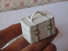Miniature suitcase inspiration.