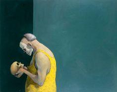Extroverted Masquerade by Michael KVIUM What Is Contemporary Art, Contemporary Paintings, Mermaid Sculpture, Nordic Art, Korean Art, Lowbrow Art, Light Art, Community Art, Portrait Art