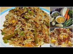 [Cuisine mauricienne] Recette facile de Biryani aux légumes - YouTube