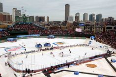 Go to the winter classic.