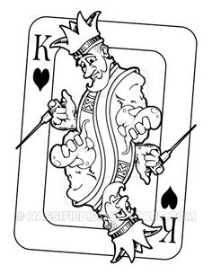 King of Hearts by hassified.deviantart.com on @DeviantArt