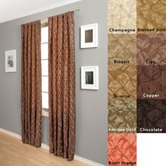 Zanzibar Rod-Pocket 120-Inch Polyester/Nylon Curtain Panel | Overstock.com Shopping - Great Deals on Curtains