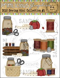 Sewing ClipArt Collection #1 - 2010