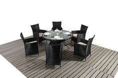 http://www.bonsoni.com/bonsoni-round-dining-set-6-piece-colour-black-includes-a-large-glassed-top-circular-table-six-chairs-and-a-parasol-rattan-garden-furniture-1  Our round dining 6 set includes a large glassed topped circular table, six chairs and a parasol.   http://www.bonsoni.com/bonsoni-round-dining-set-6-piece-colour-black-includes-a-large-glassed-top-circular-table-six-chairs-and-a-parasol-rattan-garden-furniture-1