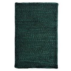 Colonial Mills Solid Chenille Dark Green Area Rug Rug Size: Runner 2' x 10'
