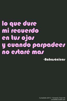 Tormento  #Babasonicos #Lyrics #LyricsBites