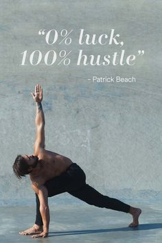 Get motivated by yogi Patrick Beach and challenge yourself in every workout. | H&M Sport