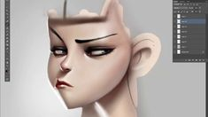 Cartoon face coloring, step 3 : Cleaning on Vimeo ✤ || CHARACTER DESIGN REFERENCES | キャラクターデザイン | çizgi film • Find more at https://www.facebook.com/CharacterDesignReferences & http://www.pinterest.com/characterdesigh if you're looking for: #color #theory #contrast #animation #how #to #draw #paint #drawing #tutorial #lesson #balance #sketch #colors #painting #process #line #art #comics #tips #cartoon || ✤