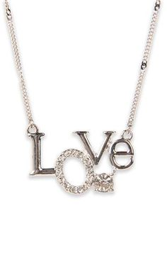 Deb Shops #love #necklace
