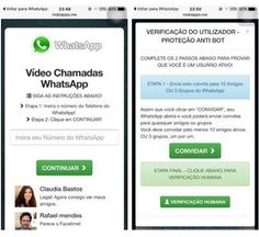 Golpe do videochamada no WhatsApp brasileiro -  http://www.blogpc.net.br/2016/02/Golpe-do-videochamada-no-WhatsApp-brasileiro.html #WhatsApp