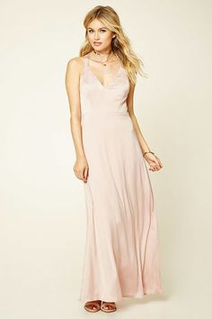 Contemporary Strappy Maxi Dress