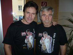 "Kurt Elsasser mit Hans"" Orsolics Mens Tops, T Shirt, Fashion, Alsace, Supreme T Shirt, Moda, Tee, La Mode, Fasion"