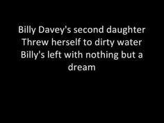 Billy Daveys Daughter - Stereophonics (lyrics) -