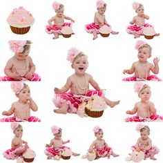 Sarah Braden, Photography, Portrait Sitting, 1st Birthday, Cake Smash, My little Cupcake, Paris Daisy Couture