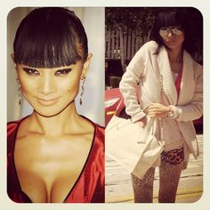 the PETITE MARIE bag & Actress Bai Ling, known for her role in Star Wars Episode III: Revenge of the Sith ..