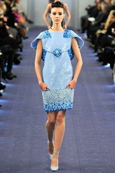 Chanel Spring 2012 Couture--I love this but it makes me think of legos for some reason.