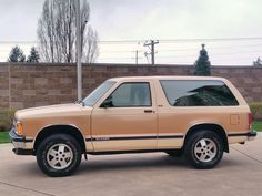 1991 Chevrolet Blazer CHEVROLET S10 BLAZER TAHOE 2 DOOR WAGON/SPORT UTILITY 4X4