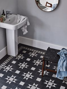 Vinyl flooring finds its groove Amtico launched its Décor range of LVTs this spring, including this Vinyl Flooring Bathroom, Vinyl Sheet Flooring, Hall Flooring, Bathroom Vinyl, Kitchen Vinyl, Luxury Vinyl Flooring, Luxury Vinyl Tile, Vinyl Tiles, Kitchen Flooring