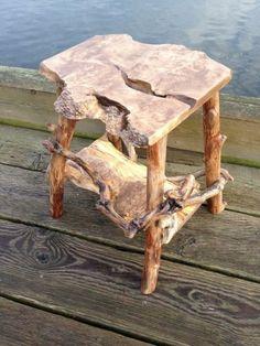 16 Fantastic Driftwood Furniture Tips – Futurist Architecture Driftwood Table, Driftwood Furniture, Driftwood Projects, Log Furniture, Unique Furniture, Furniture Projects, Painted Furniture, Furniture Design, Western Furniture