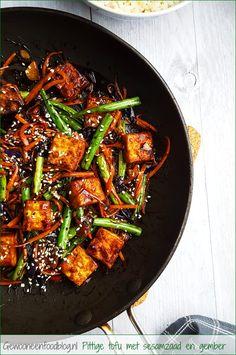 Veggie Snacks, Veggie Recipes, Asian Recipes, Vegetarian Recipes, Healthy Recipes, Vegan Fish, Healthy Meals For Two, Greens Recipe, Food Blogs