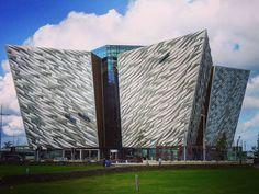 Titanic Museum in Belfast, Ireland.