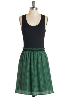 Book Fair Beauty Dress. The areas beloved book fair finds you in this cute twofer dress, chatting with patrons about your favorite selections from upcoming authors.  #modcloth