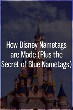 If you've ever visited a Disney park of any kind, you've more than likely seen