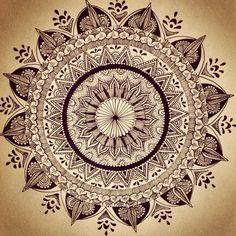 Beautiful flower mosaic tattoo