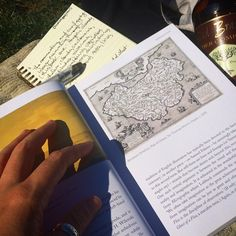 "August 2014: how to Saturday: park blanket & art book. (book is ""English Graphic"" by Tom Lubbock)"