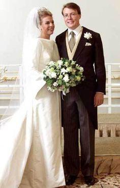 Boda del principe Constantijn Christof Frederik Aschwin de Orange-Nassau & Petra Laurentien Brinkhorst. 19.05.2001
