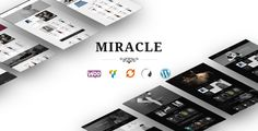 Miracle is a lightweight multipurpose WooCommerce WordPress theme well suited for any niche eCommerce website. The theme is SEO friendly that will make Google love your website. Miracle theme has...
