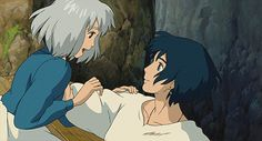 Howl's Moving Castle <3 I'm pinning so much of this! Maybe I should just break down and create a whole board for it!
