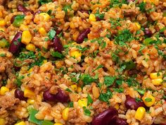 Mexikói rizses hús - GastroHobbi Okra, Fried Rice, Beef, Ethnic Recipes, Health, Foods, Recipes, Meat, Food Food