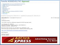 """INCOME JUST BY WATCHING ADS AND POSTING """"I WORK FROM HOME less than 10 minutes and I manage to cover my LOW SALARY INCOME. If you are a PASSIVE INCOME SEEKER, then AdClickXpress (Ad Click Xpress) is the best ONLINE OPPORTUNITY for you  And many more earnings with AdclickXpress like  GET RICH POSTING YOUR PAYOUT PROOFS AND GET REWARDS... For more Details Dial +919153180418 To join Click the given link :- http://www.adclickxpress.is/?r=cpzhzj4ycxh&p=mx"""