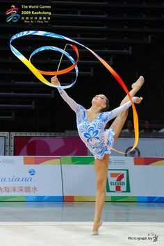 Melitina Staniouta (Belarus) # The World Games 2009 in Kaohsiung...