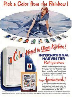 International harvester refrigerators