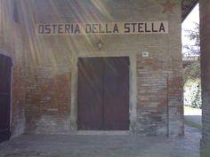Osteria della Stella  via Ronchi 10 a Castello d'Argile - Tel +39 051977071 Bottega Storica del comune di Bologna, La Trattoria della Stella è nota per le tradizionali tagliatelle fatte in casa