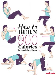 How to Burn 900 Calories in Just One Hour.......Piloxing is an amazing full-body workout, and its also good, dance-y fun, says Kelly Osbourne. Shes sweaty but sold. Youre Going to Want to Pin This.....:)