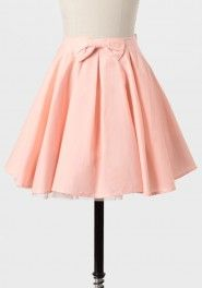 through the looking glass pleated skirt in pink