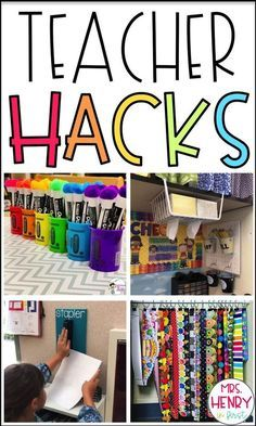 20 Amazing Teacher Hacks for the classroom from Source by MrsHenryInFirst Classroom Hacks, Classroom Organisation, Teacher Organization, Future Classroom, Creative Classroom Ideas, Art Classroom Decor, Kindergarten Classroom Decor, Classroom Teacher, Decorating Ideas For Classroom